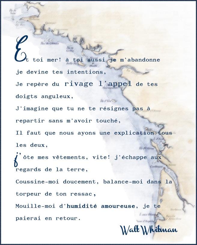 Montage ©Maa sur un poème de Walt Whitman