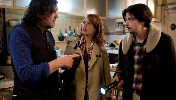 les trois acteurs