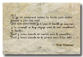 Feuilles d'herbe - W. Whitman