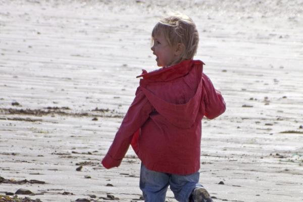 Capucine à la plage