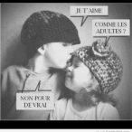 de dire OUI à un baiser