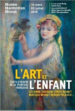 Affiche - l'art et l'enfant