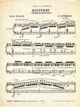 Partition pour piano