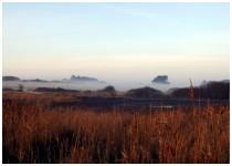 Brume sur les lagunes